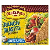 Old El Paso Ranch Blasted Stand n' Stuff Taco Shells, 153 Gram