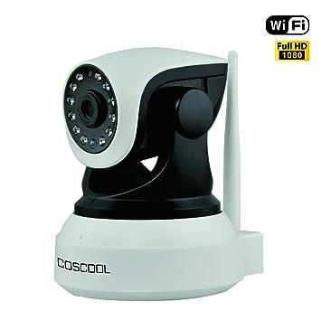 Amazon com: CosCool IP Camera 1080P Wireless,WiFi
