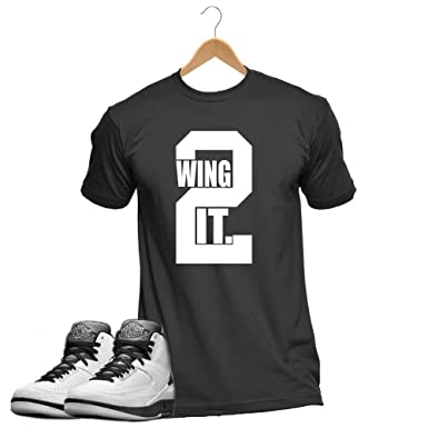 d13a69f91fc Wing it Poster Collection Sneaker Matching Tshirt | Amazon.com