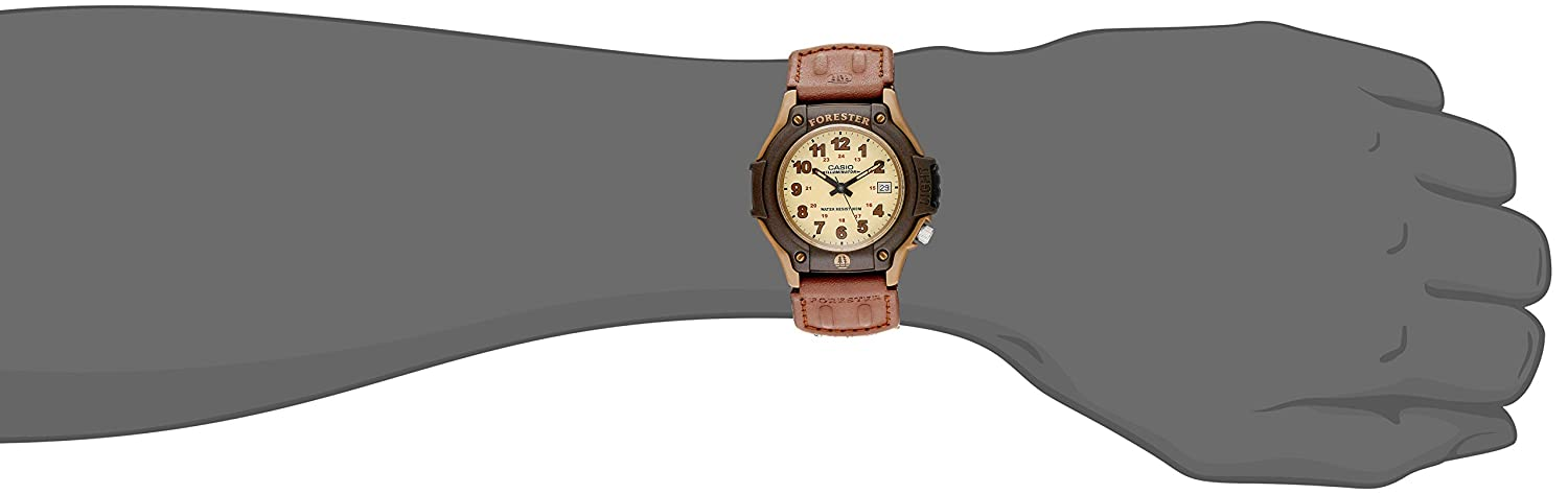CASIO FT 500WC 5BVCF Forester Sport Watch Image 2