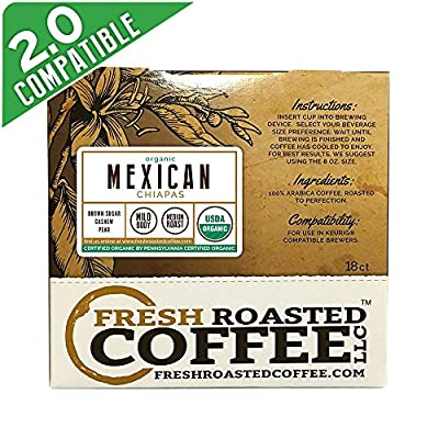 Single Serve Capsules  for Keurig K-Cup Brewers, Fresh Roasted Coffee LLC.