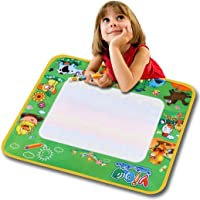 Rampmu Aqua Doodle Mat Water Writing Painting Drawing Cloth Board Pad with A Colorful Magic Pen
