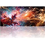 Cmhoo Desk Mouse Pad Extended XXL & Large Gaming Mat Protector Stickers 35.4 x 15.7 (90 x 40 ingzuo)