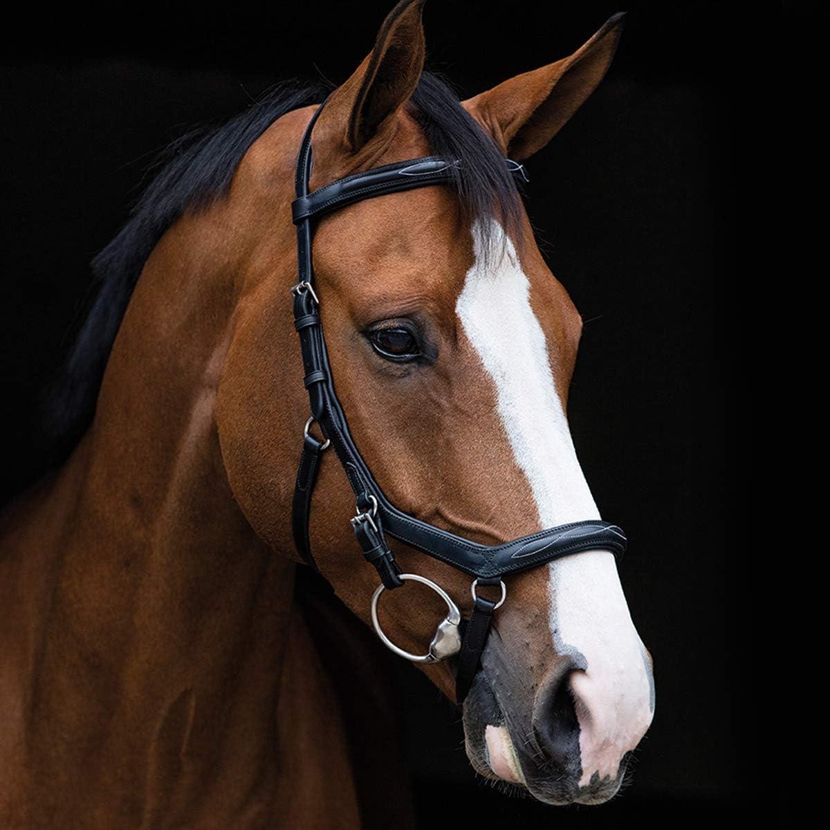 Horseware Rambo Micklem Deluxe Competition Bridle Trense Farbe und Gr/ö/ße w/ählbar