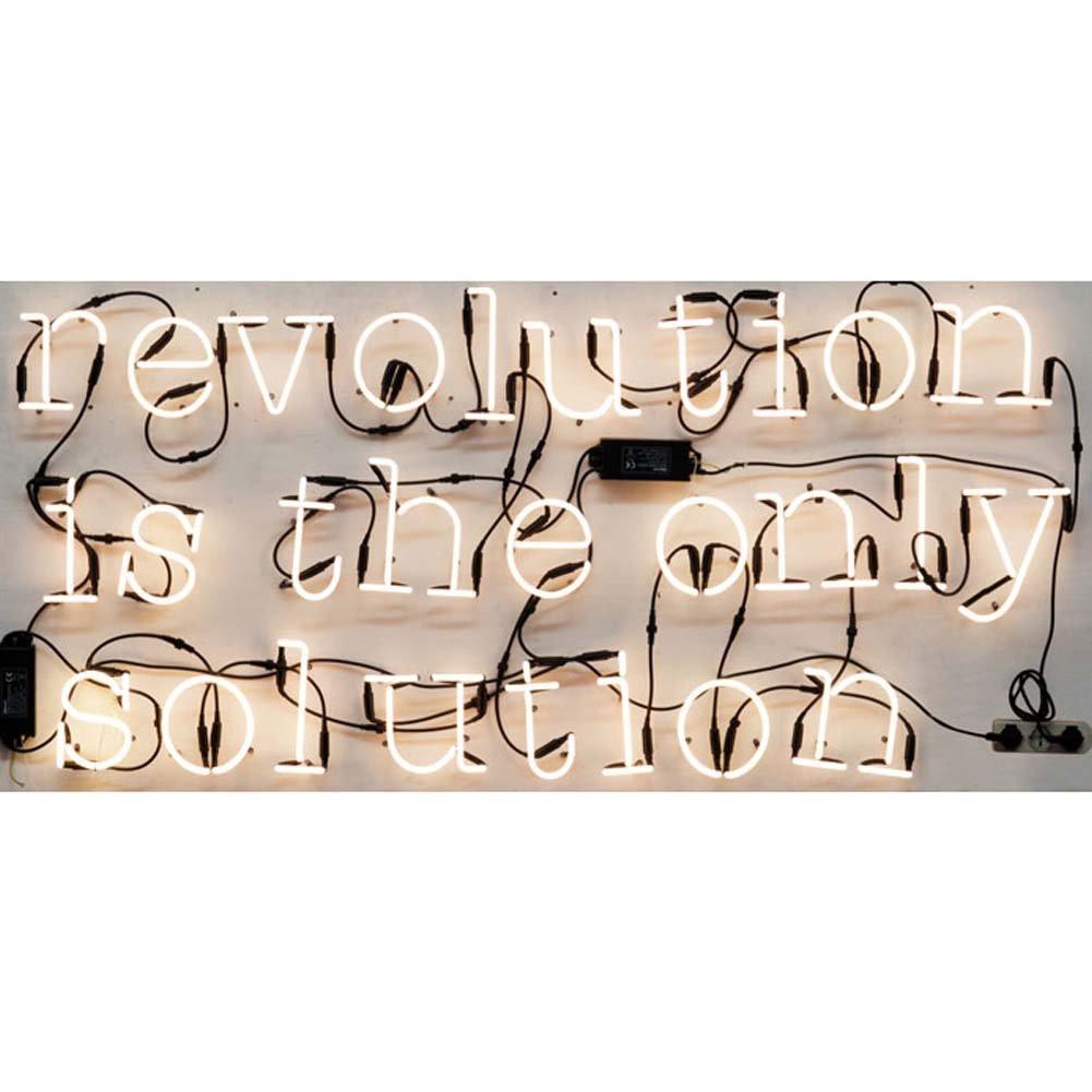 /S SELETTI Lampe n/éon moul/ée en Forme de Lettre 12/cm de Hauteur 17/