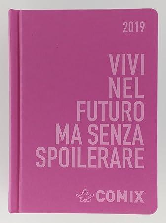 Diario Agenda comix 2018 y 2019 tamaño 16 x 11, color Rosa ...