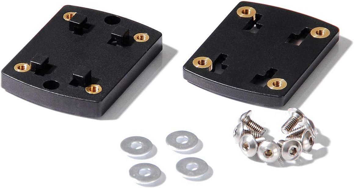 Sw Motech Gps 00 308 10501 B Clip Adapter Navi Halter Für Navi Halter Adapterplatte Richter System Auto