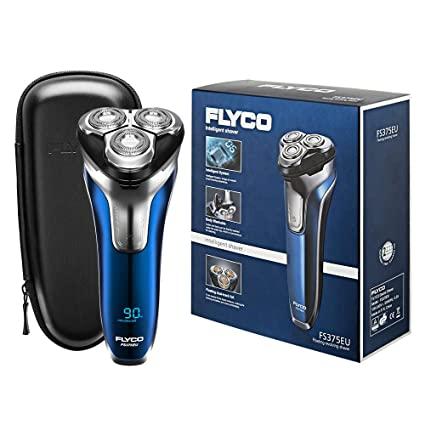 Afeitadora electrica barba para hombre rotativa FS375EU FLYCO ... 5e7854dd6b6c