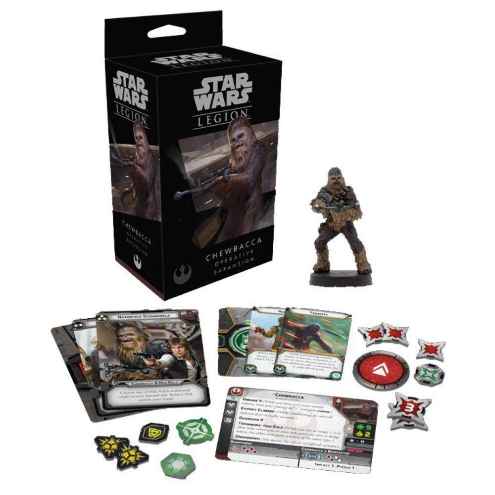 FFG Star Wars Legion Chewbacca Operative Expansion Asmodee SWL24
