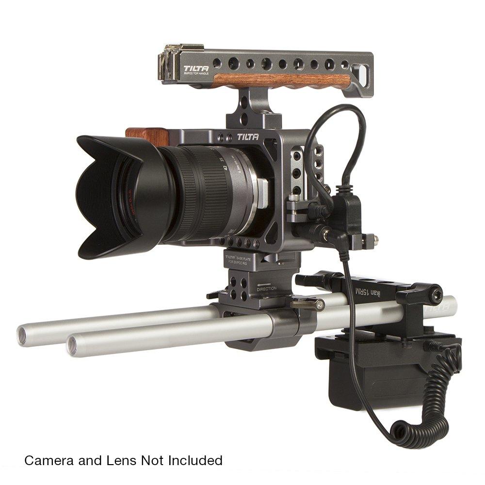 Ikan BMPCC-PWR-2RD-SU Blackmagic Pocket Cinema Camera Dual Rod DV Power Kit for Sony BP-U (Black) by Ikan (Image #5)