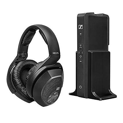 909c59feaf5 Sennheiser RS175 Digital Wireless Headphone - Black: Amazon.in: Electronics