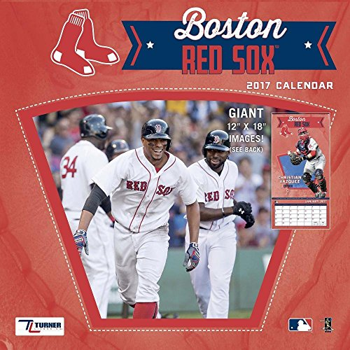 Boston Red Sox 2017 Calendar