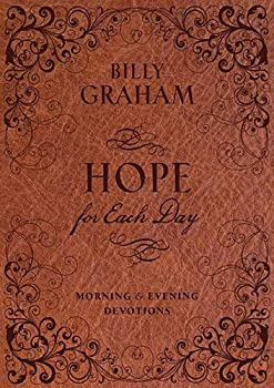 Hope for Each Day Morning & Evening Devotions 140418970X Book Cover