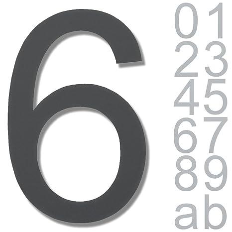 número acero inoxidable diseño Arial Tutti I Números de 3d ...