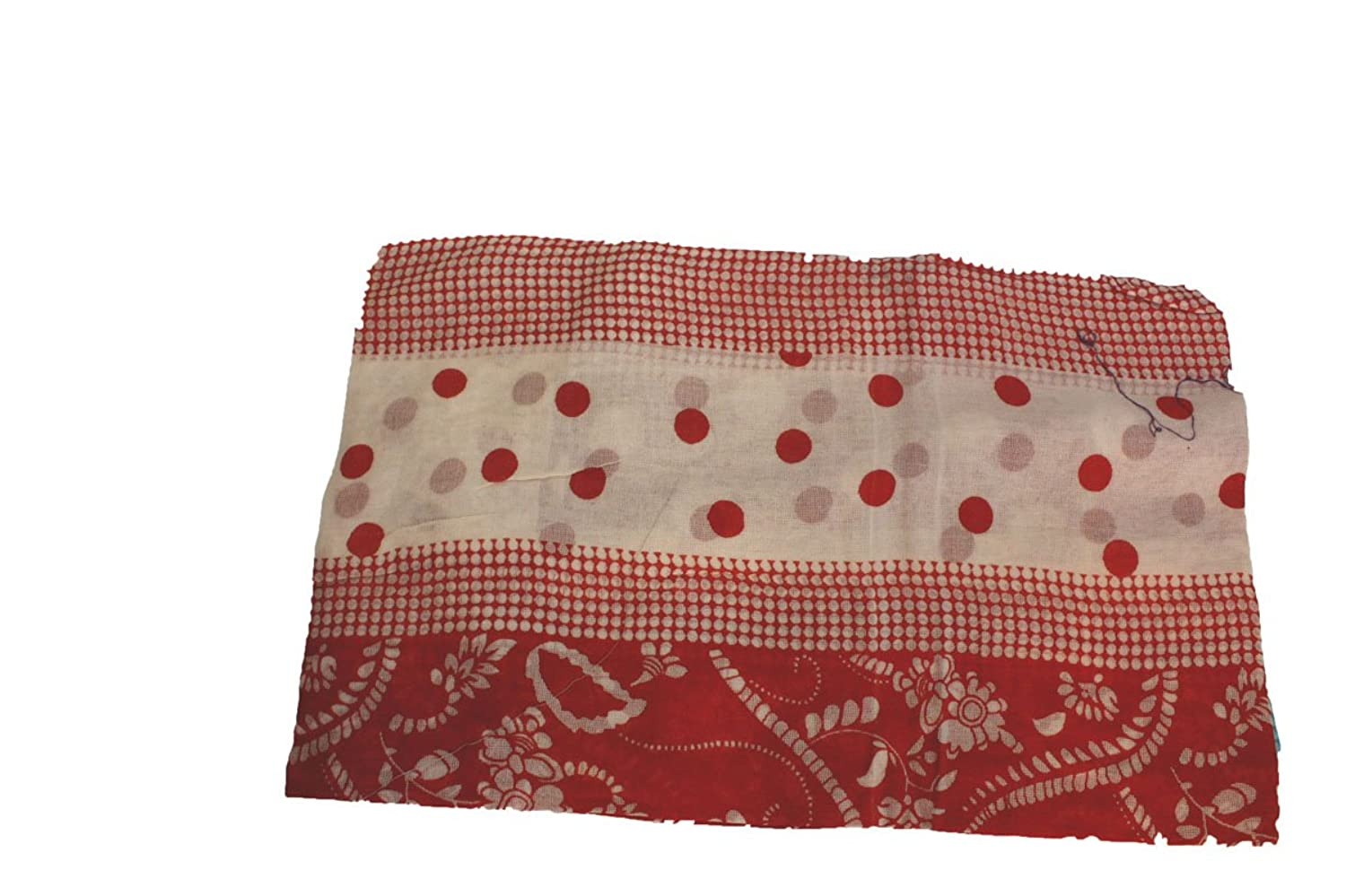 One Size Women Picnic Red Fashion Scarf