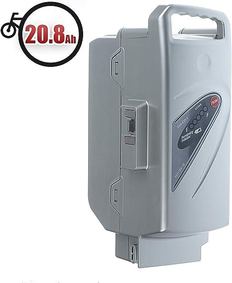Vinky Batería 20.8Ah (26V) para Bicicleta Eléctrica Kalkhoff, Flyer, Raleight & Rixe Compatible con Panasonic Flyer, Batería de Litio de Reemplazo Li-Ion para Bicicletas Eléctricas: Amazon.es: Deportes y aire libre