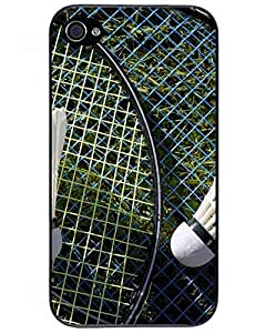 New Cute badminton iPhone 4/4s Case Cover 1160007ZF486778717I4S MLB Iphone Cases's Shop