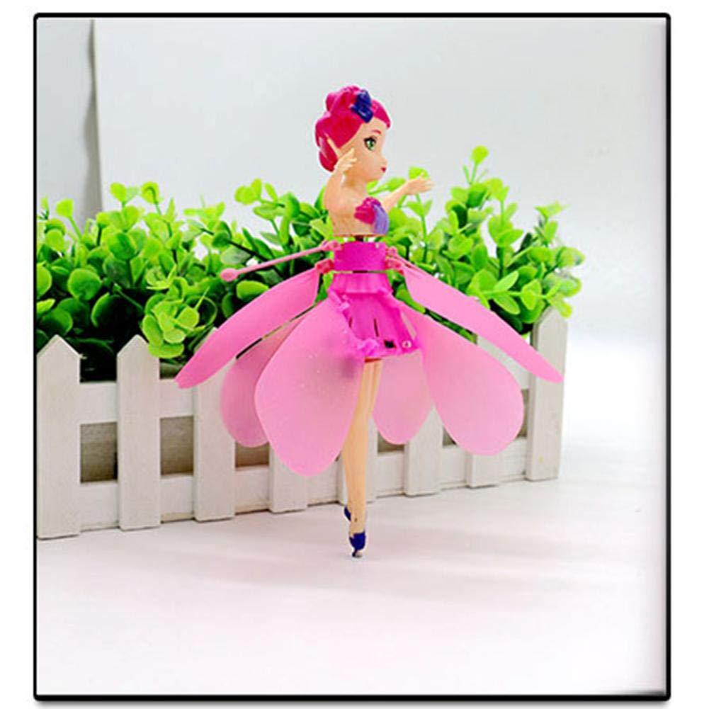 gorgeous Carga USB 6 A/ños De Edad S-tubit Inducci/ón Autom/ática Flying Elf Magic Fairy Doll Con Luces Para Ni/ños