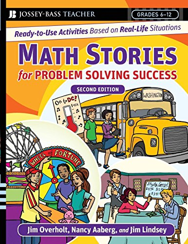Math Stories For Problem Solving Success: Ready-to-Use Activities Based on Real-Life Situations, Grades 6-12 - Nctm Math Activities