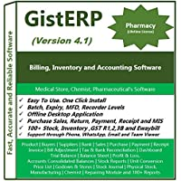GistERP Pharmacy Billing, Inventory and Accounting Software - Multi Store - Batch -Expiry(CD)