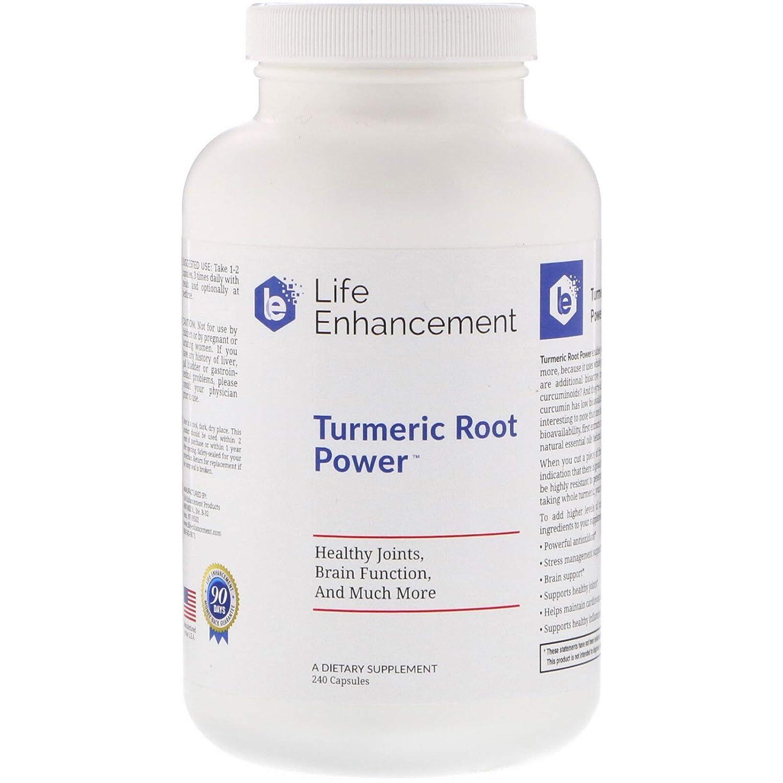 Life Enhancement Turmeric Root Power 240 Capsules