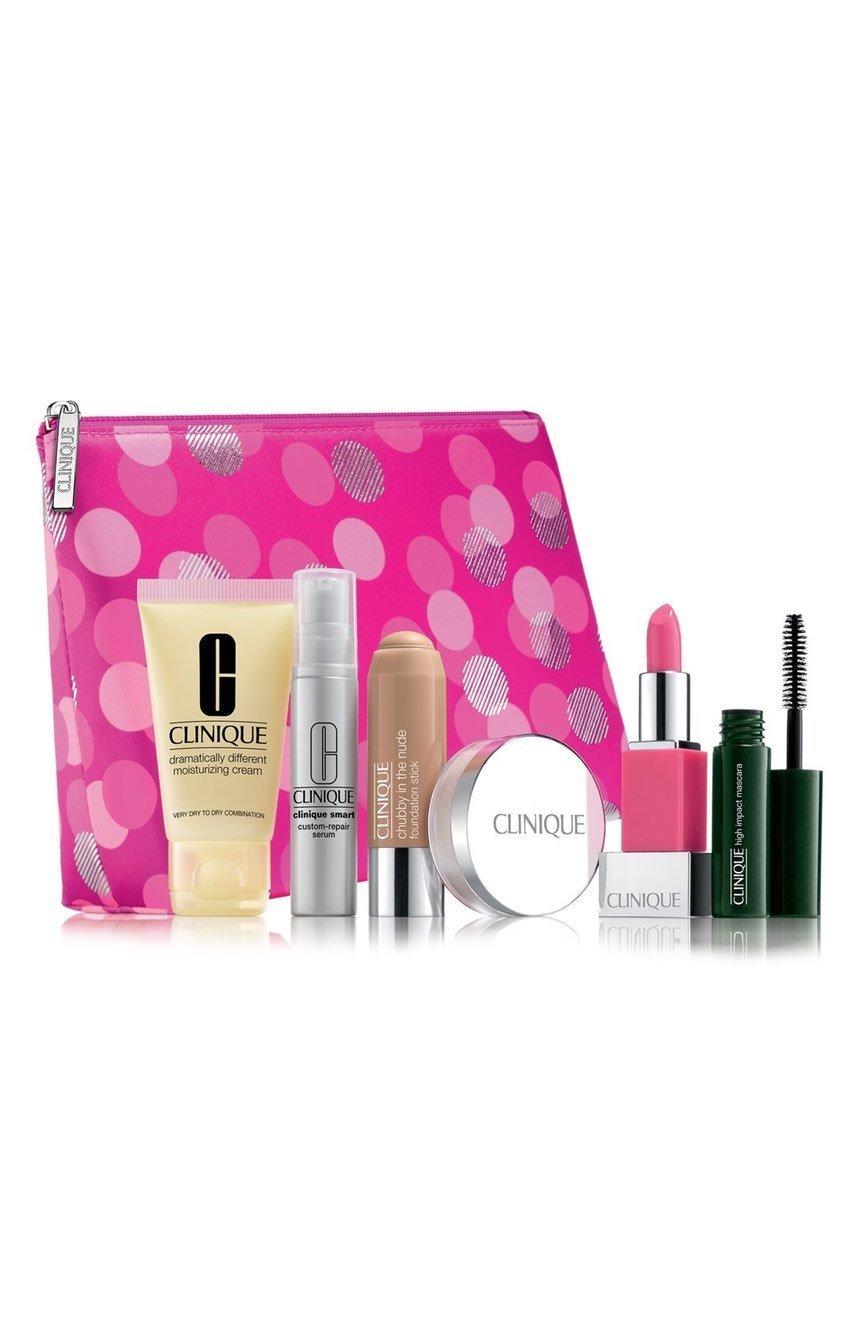 new 2015 clinique makeup skincare gift set. Black Bedroom Furniture Sets. Home Design Ideas