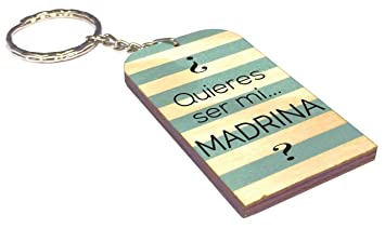 Gravure Events Llavero Quieres ser mi Madrina - Un Original ...