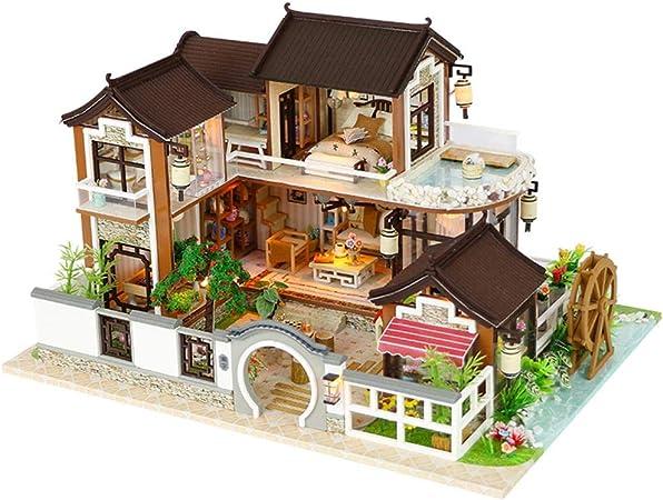 Dreameryoly DIY Puzzles en Bois Maison de poupée Ancienne ...