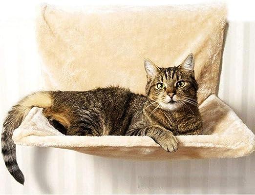 bakaji cuna Hamaca caseta de Radiador para gatos Relax 46 x 30 x 26 cm Funda extraíble y lavable. uso fácil y inmediato, Calor para TU Gato: Amazon.es: Productos para mascotas