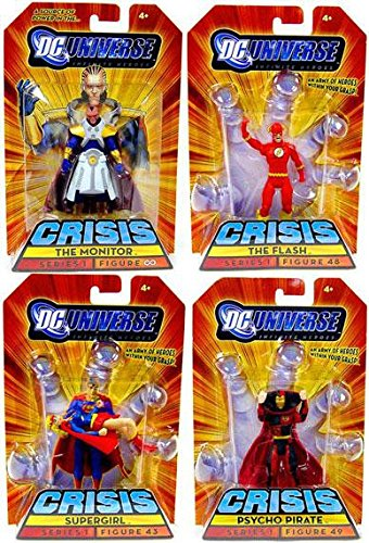 DC Universe Infinite Heroes Crisis Exclusive Crisis on Infinite Earths Set of... by DC Comics