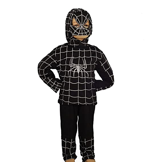 Dressy Daisy Dressy Daisy Boysu0027 Black Spiderman Superhero Fancy Party Halloween Costume Outfit Size 3T  sc 1 st  Amazon.in & Dressy Daisy Dressy Daisy Boysu0027 Black Spiderman Superhero Fancy ...
