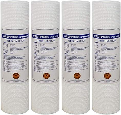 Ohne Markenzeichen 4pcs algodón PP Filtro de Agua Filtro ...
