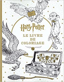 Harry Potter Le Livre De Coloriage N 1 French Edition