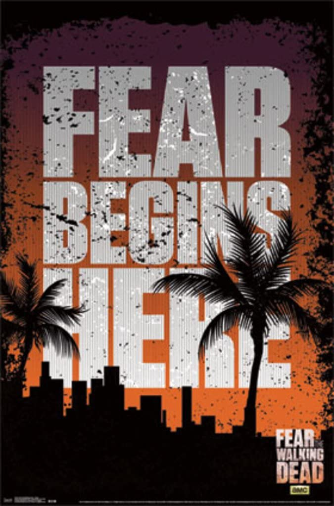 Fear The Walking Dead - Teaser Poster 22 x 34in