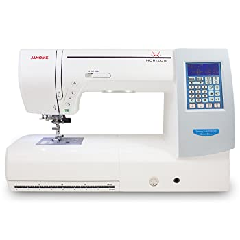 Janome Memory Craft Horizon 8200QCP Sewing Machine