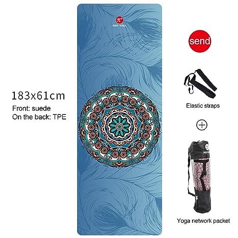 Amazon.com : Wangdo Yoga Mat - Premium 7mm Print Extra Thick ...