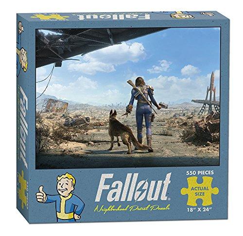 USAopoly Fallout Neighborhood Patrol Puzzle (550 Piece)