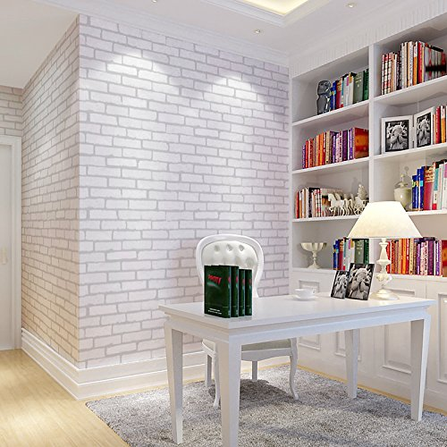 ZEM-PXD Chinese Classical Simulation Brick Brick Brick Wallpaper Concave And Convex Stereo Living Room Study Corridor Background Wall Paper 0.539.5M M