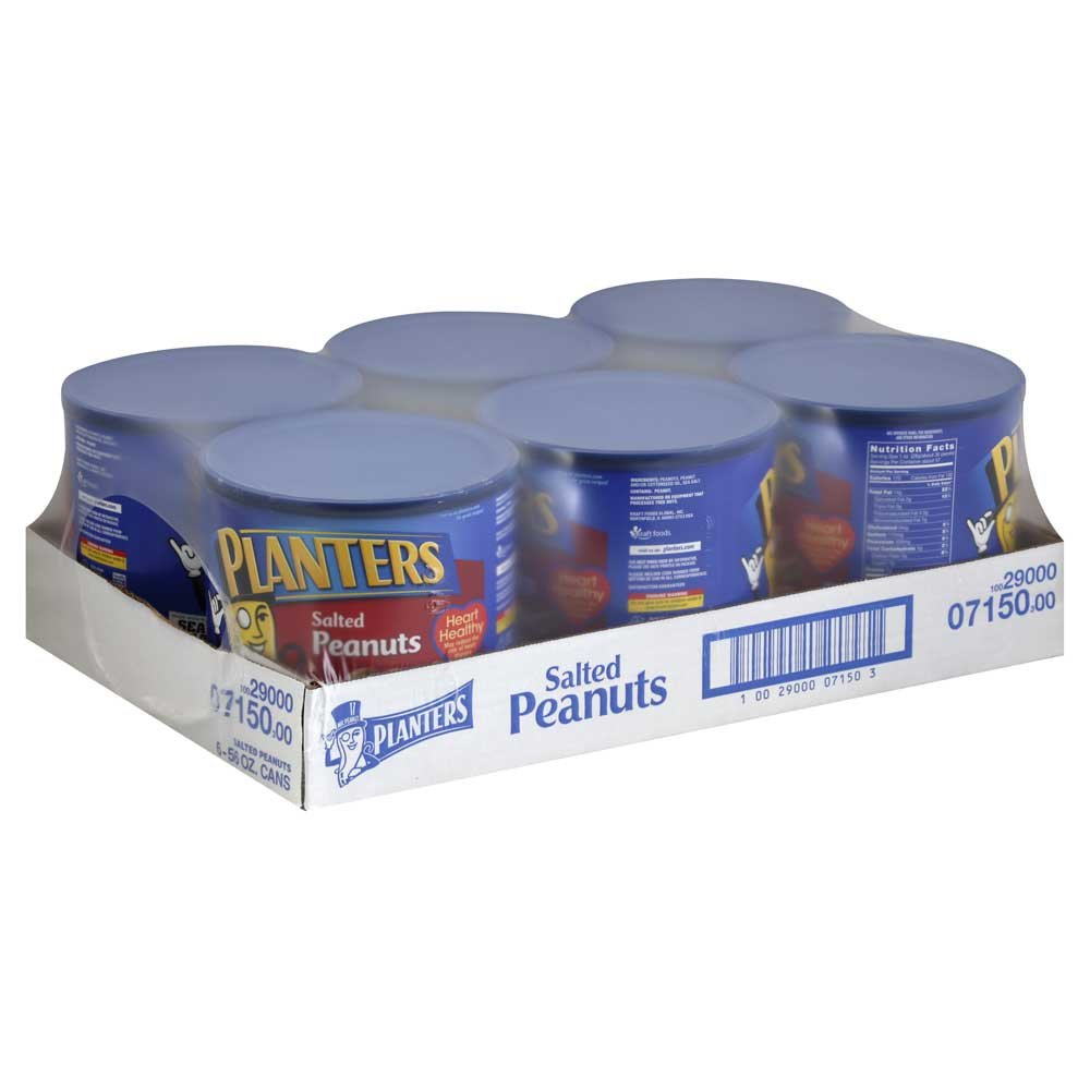 Planters Peanut Cocktail 6 Count 56 Ounce