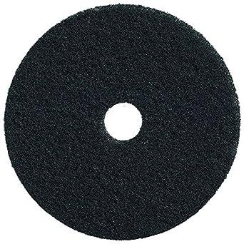 3-1//4 Arbor Black 21 Diameter x 1 Thick 3-1//4 Arbor Saint Gobain Abrasives-Norton B00CFQ5U98 Case of 5 Fine Aluminum Oxide 21 Diameter x 1 Thick Bear-Tex 66261054231 Super Strip Floor Maintenance Pad