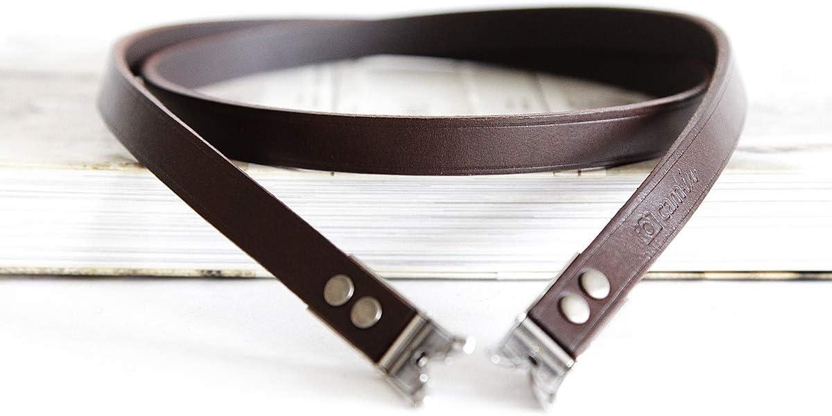 CAM-IN Genuine Leather Shoulder Neck Strap for Rollei Rolleiflex Camera LR 3.5F 3.5E 2.8E