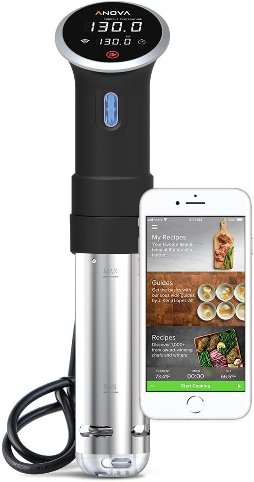 Anova Culinary Sous Vide Precision Cooker | WiFi + Bluetooth | 900W (Discontinued)