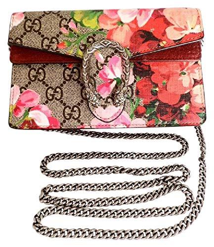 Bag Gg Monogram - GG Monogram Blooms Print Mini Dionysus Shoulder Bag Antique Rose
