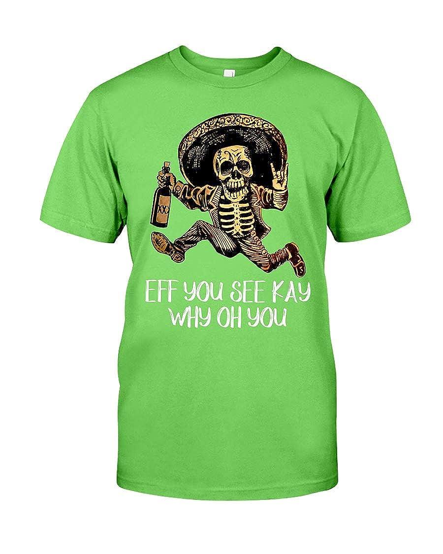 Donna Moritzs You See Kay WHY OH You Classic T-Shirt Kiwi 6XL