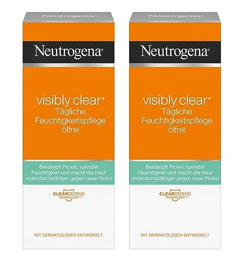 Neutrogena visibly Clear Cuidado diario Humedad sin aceite/klärende Crema Hidratante con salicyl Acid para