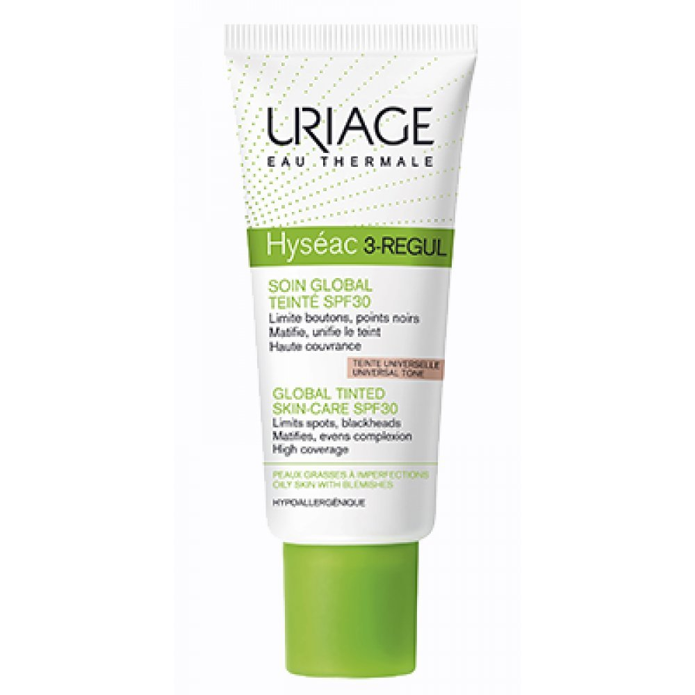 Uriage Hyséac 3-Regul Soin Global Teinté SPF 30 40 ml