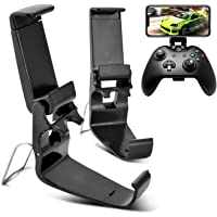 DLseego 2 Pack Xbox One Controller Phone Mount Clip, Foldable Mobile Phone Holder for Game Controller, Smartphone Clamp…