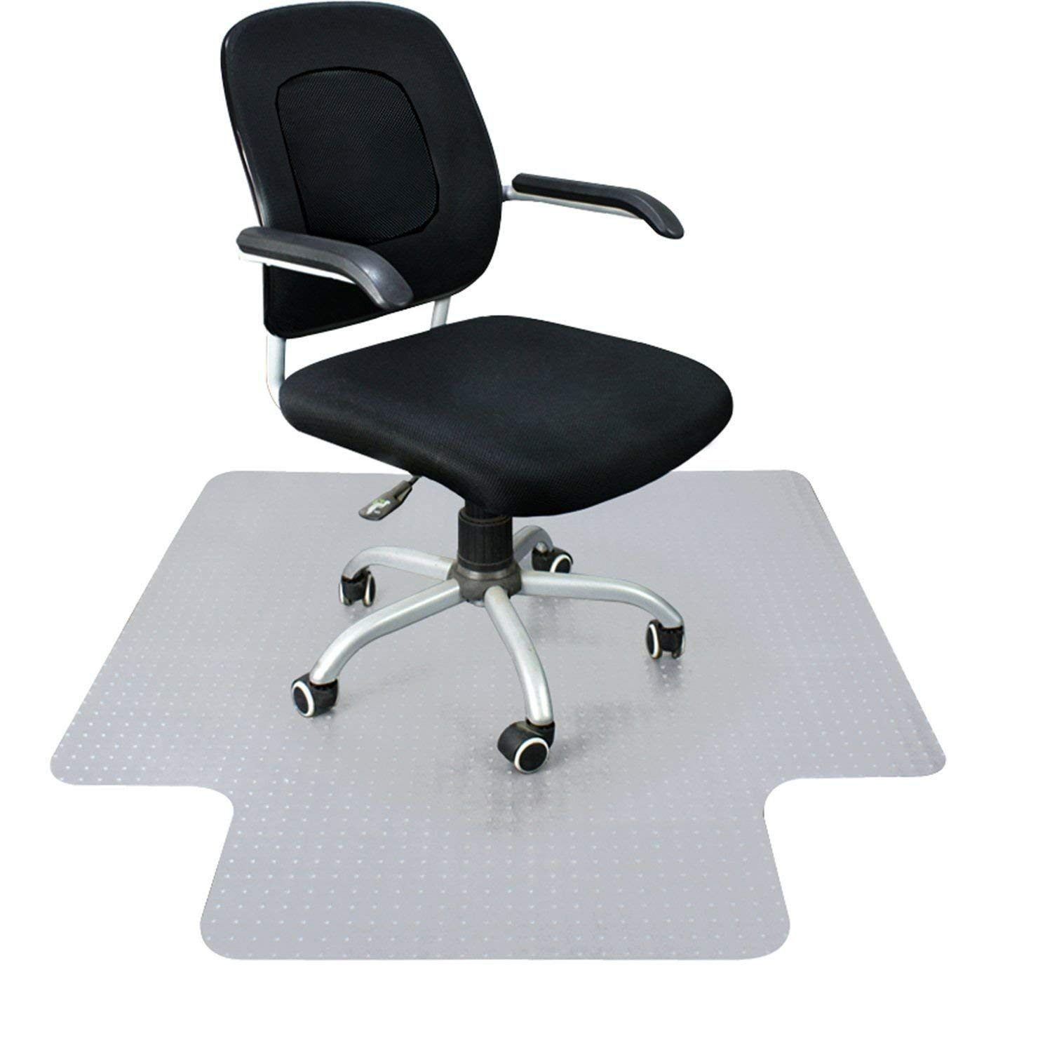 Rackarster Carpet Chair Mat, 36'' x 48'' PVC Desk Chair Mat for Low, Standard and Medium Pile Carpets, Transparent