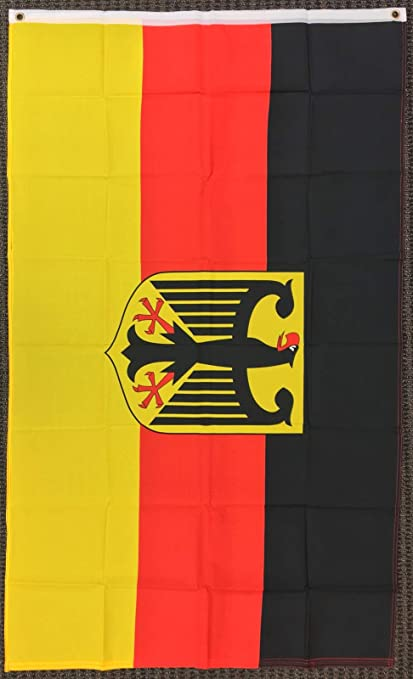 amazon com 3x5 germany flag with eagle german banner deutschland