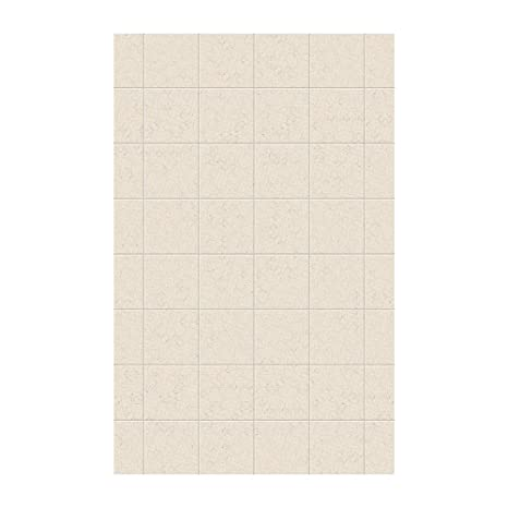 Swan SSSQ629601.050 Solid Surface Glue-Up 1-piece Shower ...